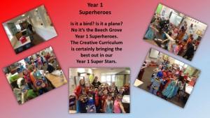 Year 1 Superheroes