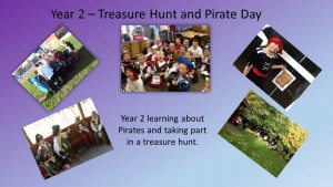 Year 2 Treasure Hunt and Pirate Day