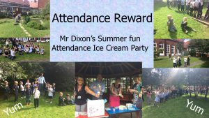 Summer Ice Cream Attendance Reward
